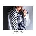 ドットとチェックの最強コンビ。デザインシャツ・11月11日20時〜発売。綿100%