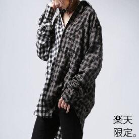 (楽天限定)懐かしくて愛らしい柄のハンサムシャツ。ギンガムチェックシャツ・再再販。##×メール便不可!