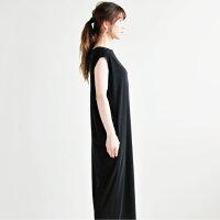 【MICA&DEAL/マイカアンドディール】フロントスリットワンピース