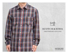 【SCOTCH&SODA / スコッチアンドソーダ】チェックシャツ(282-61433)