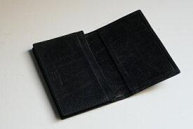 ALFREDO BERETTA【アルフレッド べレッタ】 MODEL/1002 黒BLACK ヌバックレザー名刺入れ(カードケース)