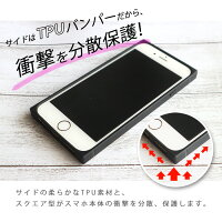 iPhone8ケースiPhoneXケースiPhone8PlusiPhone7ケースiPhone7PlusiPhone6siPhone6sPlus耐衝撃カバー強化ガラスTPUフレーム送料無料背面ガラス9Hマーブル大理石光沢