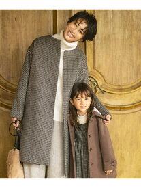 [Rakuten Fashion]【SALE/50%OFF】カシミヤブレンドノーカラー コート any FAM エニィファム シャツ/ブラウス シャツ/ブラウスその他 ブラウン ホワイト ブラック ブルー【RBA_E】【送料無料】