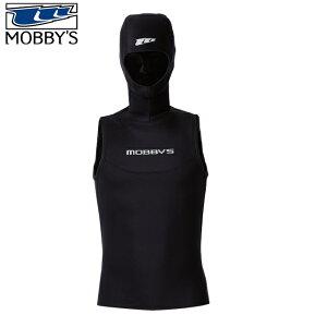 モビーズ MOBBYS HOOD VEST ノンジップ フードベスト DA-4300 3.5mmダイビング 防寒 ウェットスーツ ウエットスーツ 保温男性 女性 メンズ レディース ストレッチ