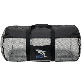 メッシュバッグ ダイビング Mサイズ 32×68シューノーケリング シュノーケルセットスノーケルセット 軽器材 収納 IST SPORTS ダイビングバッグ