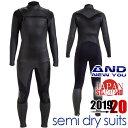 『セミドライスーツ』 5mm × 3mm 2020限定モデル セミドライ スーツ サーフィン チェストジップ メンズ 男性用 ウェ…