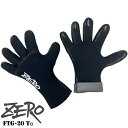 FTG-15 ZERO ゼロ ダイビング グローブフィットサーモグローブ 手袋 1,5ミリ 1,5mm