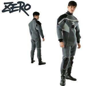 ZERO ゼロ LASER 8 DRY SUITSドライスーツ メンズ MENS3.5mm 5.0mm ドライスーツ スポーツ SPORTS 8-35 ダイビング大きいサイズ メンズ 男性 DRY 防寒 保温 あったか マリンスポーツ