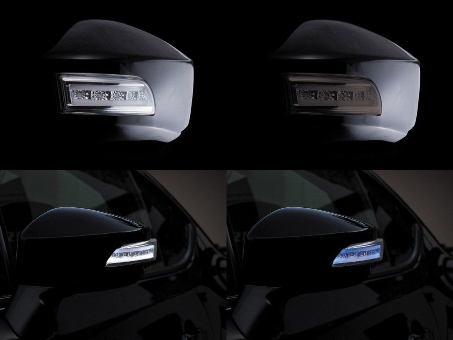 送料無料!Valenti/ヴァレンティ ジュエルLEDドアミラーウインカー TOYOTA 86(ハチロク)ZN6/SUBARU BRZ ZC6 純正色塗装済み WRブルーマイカ(02C)