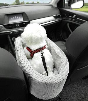 犬ベッド車載アームレストペットソファーカー用品車ドライブベッドいぬドライブ用品旅行お出かけ6kgまで【Anytime】