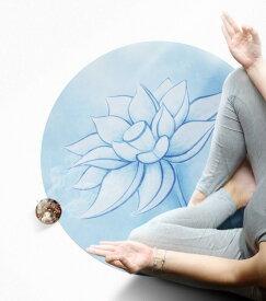 ヨガマット カーペット 60cm 瞑想 ストレッチマット エクササイズマット マット ヨガ 初心者 【Anytime】