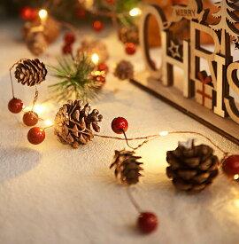 クリスマスイルミネーション 屋外 LED クリスマス 飾りライト おしゃれ LEDライト 室内飾り 室外飾り イルミネーションライト 装飾 クリスマスツリー クリスマスベル クリスマスパーティー 2M 20球 ツリー パーティー 【Anytime】