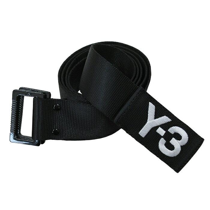 Y-3【ワイスリー】BLACK BELT【ブラック ベルト】【BLACK】【CD4729】Yohji Yamamoto adidas ナイロン ダブルリング ブランド ユニセックス ロゴ ワンポイント モード ストリート 2017 ブラック あす楽対応