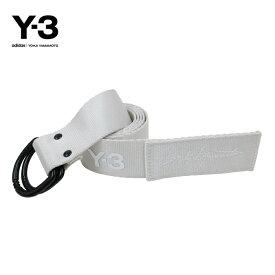 Y-3【ワイスリー】Y-3 STREET BELT【ストリート ベルト】【WHITE】【DQ0617】Yohji Yamamoto adidas ヨウジヤマモト アディダス ナイロン ダブルリング ブランド ユニセックス ロゴ ワンポイント 2018 ホワイト ギフト プレゼント あす楽対応