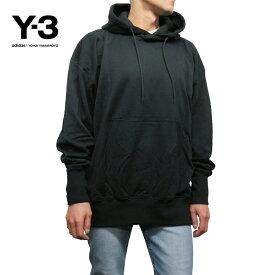 Y-3【ワイスリー】メンズ オーバーサイズ スウェットパーカー【M STACKED LOGO HOODIE】【DP0459】【BLACK】Yohji Yamamoto adidas ヨウジヤマモト アディダス TOPS SWEAT HOODIE スウェット ブラック 黒 あす楽対応