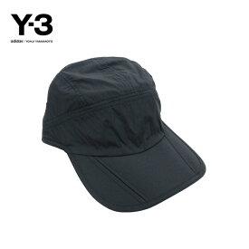 【レターパック対応】Y-3(ワイスリー)Y-3 FOLDABLE CAP(フォルダブル キャップ)(BLACK)(FH9272)Yohji Yamamoto adidas メンズ レディース 男女兼用 帽子 新品 折りたたみ可能 ブラック 黒 あす楽対応