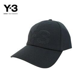 Y-3(ワイスリー)Y-3 LOGO CAP(ロゴ キャップ)(BLACK)(FH9290)Yohji Yamamoto adidas メンズ レディース 男女兼用 ユニセックス ハット 帽子 ロゴ ブラック 黒 人気 定番 ストリート モード あす楽対応