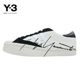 【SALE】Y-3(ワイスリー)Y-3 YOHJI STAR(ヨージスター)(OFFWHITE/BLACK/ECRU)(EH2267)Yohji Yamamoto adidas ヨウジヤマモト アディダス スーパースター スニーカー シューズ モード ストリート ホワイト 白 あす楽対応
