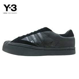 【SALE】Y-3(ワイスリー)Y-3 YOHJI STAR(ヨージスター)(BLACK/FTWRWHITE/BLACK)(EH2268)Yohji Yamamoto adidas ヨウジヤマモト アディダス スーパースター スニーカー シューズ モード ストリート ブラック 黒 あす楽対応