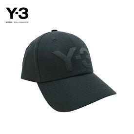 Y-3(ワイスリー)Y-3 CLASSIC LOGO CAP(ロゴ キャップ)(BLACK)(GK0626)Yohji Yamamoto adidas メンズ レディース 男女兼用 ユニセックス ハット 帽子 ロゴ ブラック 黒 人気 定番 ストリート モード あす楽対応 正規取扱店