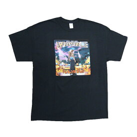 CASH MONEY RECORDS & BRAVADO & VFILES MERCHANDISEプリント Tシャツ【LIL WAYNE T-SHIRT】【BLACK】半袖 プリント S/S T-SHIRT SHORT SLEEVE TEE HIPHOP ヒップホップ 新品 あす楽対応