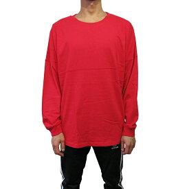 J.AMERICA【ジェイ.アメリカ】ロングスリーブTシャツ【Game Day Jersey】【RED】長袖 無地 L/S T-SHIRT 新品 レッド あす楽対応