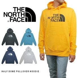 U.S.A.規格 THE NORTH FACE(ザ・ノースフェイス)HALF DOME PULLOVER HOODIE(スウェットプルオーバーパーカー)(5カラー)インポート 海外規格 米国モデル 定番 人気 BLACK NAVY ORANGE GRAY BLUE あす楽対応
