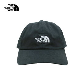 U.S.A.規格 THE NORTH FACE(ザ・ノースフェイス)コットン 6パネルキャップ(THE NORM HAT)(TNF BLACK/TNF WHITE)帽子 CAP ワンポイント ロゴ キャップ 男女兼用 メンズ レディース ブラック ホワイト 黒 白 あす楽対応 メール便対応