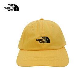 U.S.A.規格 THE NORTH FACE(ザ・ノースフェイス)コットン 6パネルキャップ(THE NORM HAT)(ZINNORG/TNF BLACK)帽子 CAP ワンポイント ロゴ キャップ 男女兼用 メンズ レディース イエロー ブラック 黄色 黒 あす楽対応 レターパック対応
