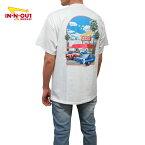 カリフォルニア直輸入IN-N-OUTBURGER【インアウトバーガー】プリントTシャツ【2000MILLENNIUM】【WHITE】半袖プリントオフィシャルアイテムオフィシャルライセンスTシャツ新品正規ホワイト白あす楽対応