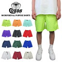 COBRA CAPS(コブラキャップス)マイクロファイバーショーツ(MICROFIBER ALL PURPOSE SHORTS)(全12カラー)メンズ 男性 …