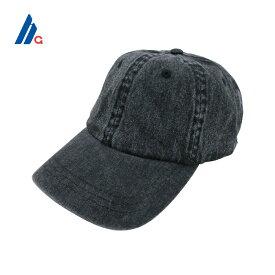 MEGA CAP(メガキャップ)ストラップバックキャップ(BLACK DENIM)無地 帽子 デニム キャップ DENIM CAP Hat Structured Cap 6-Panel Strapback メンズ レディース 男女兼用 ユニセックス ブラックデニム SUPREME SEAN PABLO あす楽対応 レターパック対応