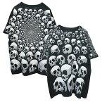 LIQUIDBLUEイーグルプリントTシャツ(SONOFSKULLSBLACKT-SHIRT)(BLACK)半袖プリントS/ST-SHIRTSHORTSLEEVEブラックスカルTRAVISSCOTTトラビス・スコット海外限定あす楽対応レターパック対応