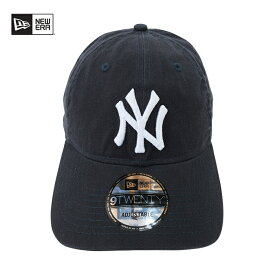 NEWERA【ニューエラ】9TWENTY キャップ【NEW YORK YANKEES/ニューヨーク ヤンキース】【NAVY】MLB NEW ERA 帽子 メンズ レディース ローキャップ サイズ調整 コットンキャップ ブランド メンズキャップ ダンス ダンサー 衣装 ネイビー 紺 あす楽対応