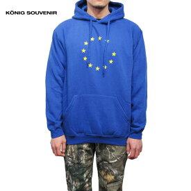 KONIG SOUVENIREUnify Hoodie(BLUE)新品 プルオーバー パーカー ブルー OFF-WHITE Virgil Abloh あす楽対応