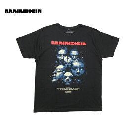 RAMMSTEIN(ラムシュタイン)オフィシャル ライセンス Tシャツ(SEHNSUCHT MOVIE)(BLACK)新品 半袖 オーバーサイズ ビックサイズ ビッグT Vetements BALENCIAGA DEMNA GVASALIA TRAVIS SCOTT バレンシアガ トラビススコット あす楽対応 レターパック対応