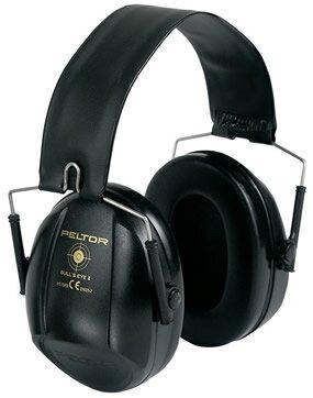 イヤーマフ ぺルター製 スリーエム/ペルター (遮音値/NRR21dB) ブルズアイI H515 ブラック 防音 しゃ音 騒音対策 イヤマフ