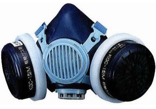 興研 防毒マスク DD-3-02 ガスマスク 作業用