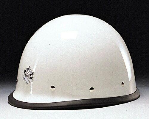 DIC/ディック FRP素材ヘルメットVP(消防型) ライナー入 シルバー塗装メタルビョウ付縁ゴム付 完成品 (安全用/工事用/高所作業用)(防災/ぼうさい)(地震対策)