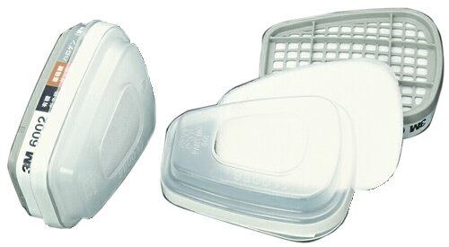 3M/スリーエム (2個/1組) コンビネーション用 吸収缶 6002/5911-S1 (6000用) ガスマスク 作業用 防毒マスク