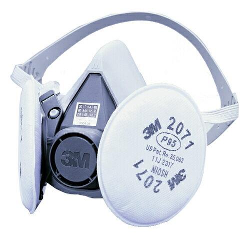 3M/スリーエム 防塵マスク 取替え式 6000/2071-RL2 粉塵 作業用 医療用 防じんマスク