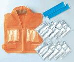 【原田産業】暑さ対策商品クールスーツクールガードIII型【クールガードIII型の胸、背中の保冷パックを首筋にも追加】