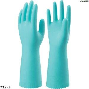 ショーワ ニトリルゴム手袋 ナイスハンドエクストラ中厚手 Lサイズ 緑 GN NHEXCLG 1双
