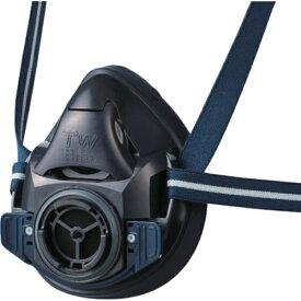 シゲマツ/重松 防毒マスク・防じんマスク TW01SC ブラック S TW01SCBKS 1個 ガスマスク