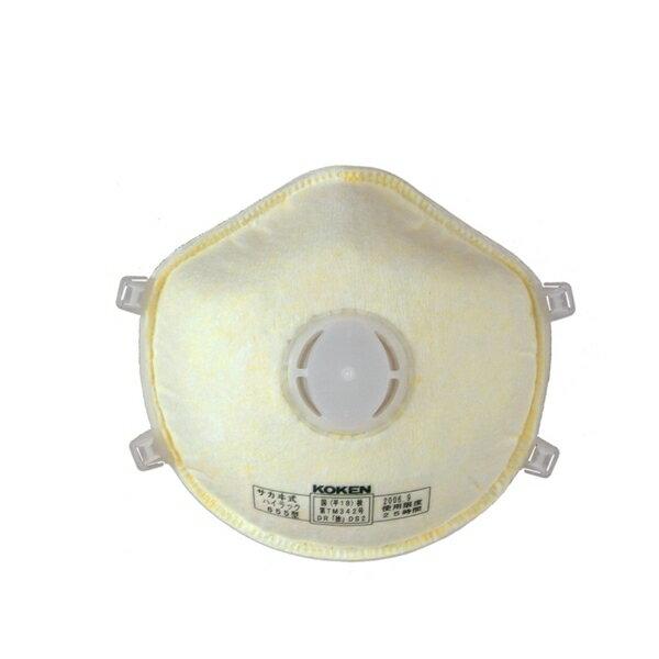 興研 使い捨て式 防塵マスク 2本ひも式 DS2 ハイラック655 10枚入 PM2.5 マスク 女性 防じんマスク mask 大気汚染 地震対策 火山灰対策 粉塵 作業用 医療用