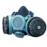 【興研】直結式小型防毒マスク7191DKG-02型【ガスマスク/防塵マスク/作業用/解体/現場】