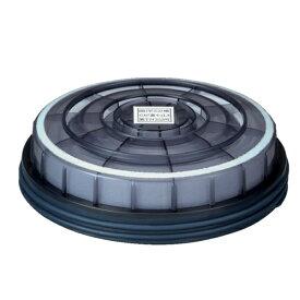 興研 アルファリングフィルタ15型 吸収缶KGC-15型専用(2個/1組)(ガスマスク/防塵/防毒/作業用/医療/病院)