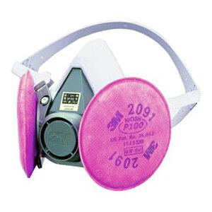 3M/スリーエム 防塵マスク 取替え式 6000/2091-RL3 粉塵 作業用 防じんマスク