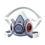 【3M/スリーエム】防毒マスク6000(半面形面体)【ガスマスク/作業用】