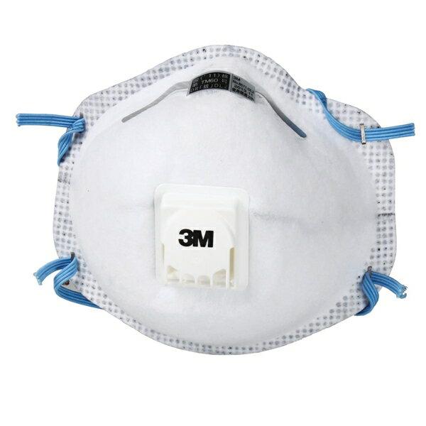 マスク PM2.5 大気汚染 火山灰対策 3M スリーエム 使い捨て式 防塵マスク 8577-DL2 (10枚入) 粉塵 作業用 医療用 防じんマスク (地震対策)